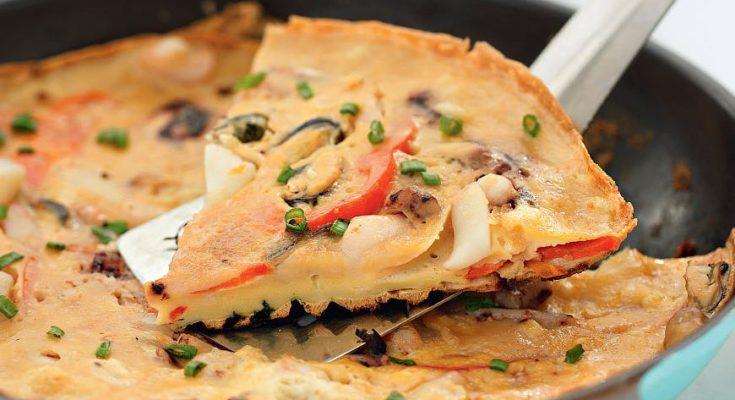 Корейская «пицца»