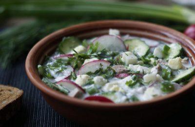 Квас-салат