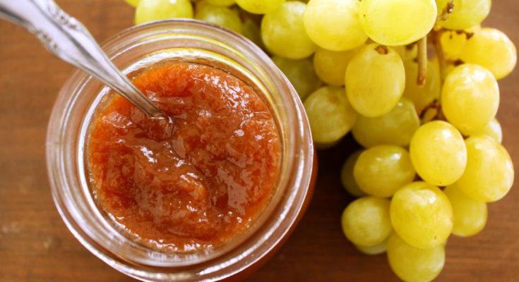 Варенье из моркови и винограда