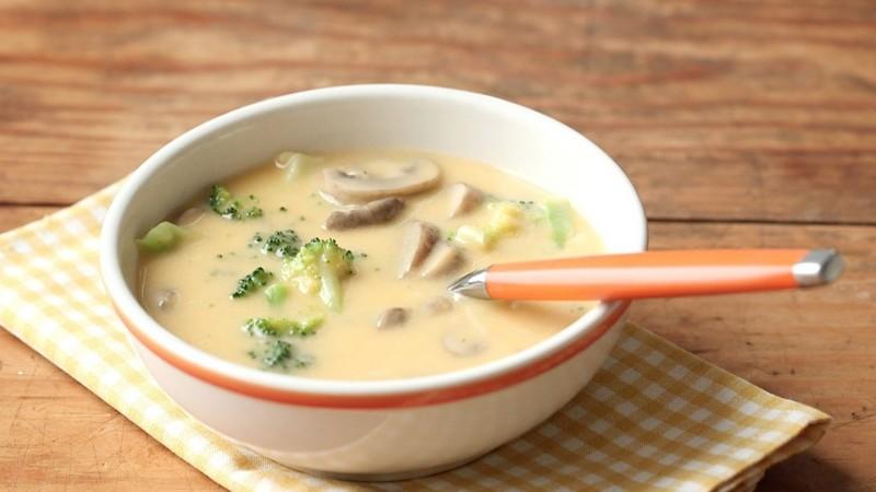 Рецепт суп грибной