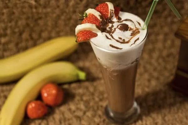 Бананово-шоколадный коктейлm