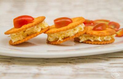 Бутерброды на крекере