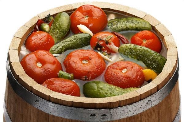 Как быстро засолить овощи