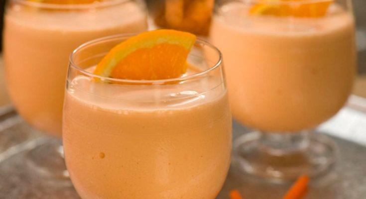 молочный коктейль Апельсиновый