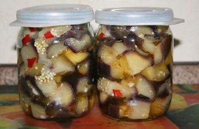 Приготовление баклажанов под грибы