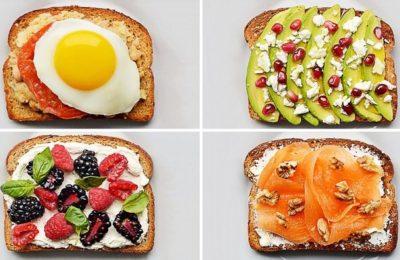Сладкие бутерброды
