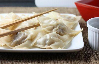 Как приготовить китайские пельмени