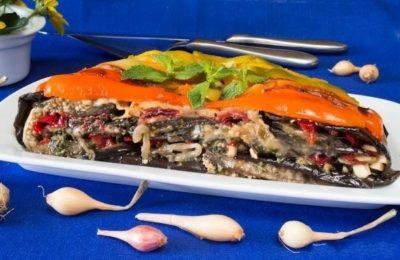 Торт баклажановый