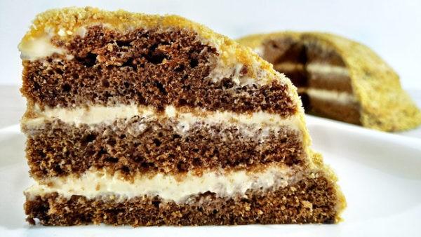 необычный и очень быстрый торт