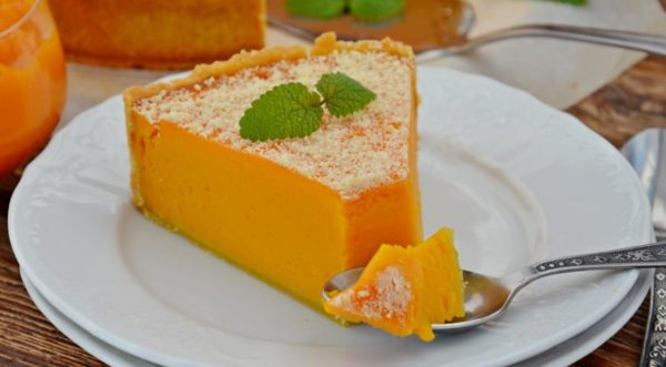 Приготовление десерта из тыквы
