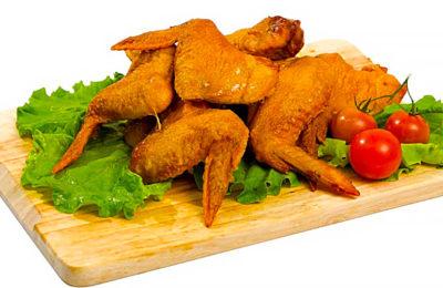 очень вкусные куриные крылышки