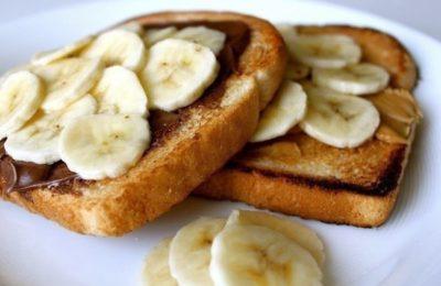 бутерброды с бананами