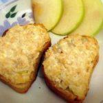 Горячие бутерброды с яблоками