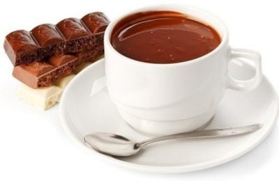 Горячий шоколад ароматный
