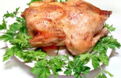 Курица в свч