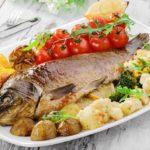 Рыба запеченная в духовке