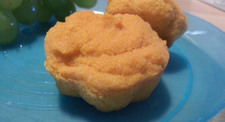 Кексы на пюре из яблок