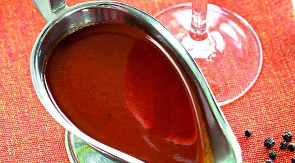 Кетчуп с красным вином